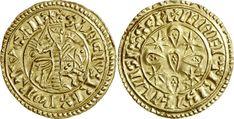 Maravedi (morabitino) em ouro com a efígie de Sancho I - wikipedia.org --------------