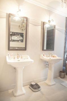 Intérieur Alexandra Nicolas de Royal Roulotte salle de bain noir et ...