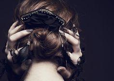 Bijoux brodés Tand3m - Hello Little World - #bijoux #jewellery #wedding