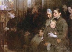Henry Jules Jean Geoffroy (French, 1853 - 1924) - «Впечатления дороже знаний...»