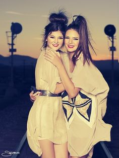 Kendall and Kylie Jenner: These 2 ladies are so young and already such inspirations on fashion today. I adore them.