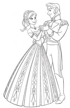 free coloring pages for girls frozen dresses | 10 Best elsa coloring page images | Elsa coloring pages ...