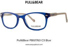 Pull&Bear PBG1763 C3 Blue Pull, Eyewear, Bear, Style, Swag, Eyeglasses, Bears, Sunglasses, Outfits