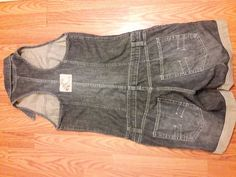 Women Jean Bib Overalls Shorts Size Large L Halter  #Unbranded #Shortalls