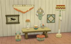 Waning Moon pt1 Converted from TS3 Store. • Two Headed Water Vessel - decorations/sculptures • Corn Stew Pot - decorations/sculptures • Great Lakes Earthenware Pot - decorations/sculptures • Nektosha...