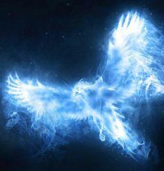 Phoenix patronus UV tattoo
