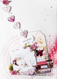 Scrapmanufaktur: Sweet Dreams Layout