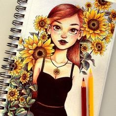 Colourful drawing of the day – I definitely had fu… Bunte Zeichnung des Tages – ich hatte definitiv Spaß mit diesem! Cassandracalin The post Bunte Zeichnung des Tages – ich hatte definitiv fu … appeared first on Frisuren Tips - People Drawing The Pencil Art Drawings, Cool Art Drawings, Colorful Drawings, Art Drawings Sketches, Funny Drawings, Kawaii Drawings, Drawings For Girls, Tattoo Sketches, Amazing Drawings