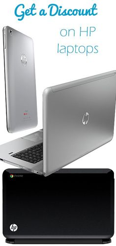 Get a Discount on HP Laptops