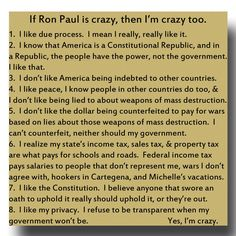 freedom, liberty, peace, truth - what crazy ideas !