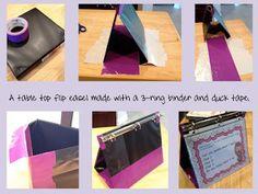 DIY Table Top Easel
