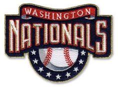 Washington Nationals MLB Baseball Team Logo Home Patch
