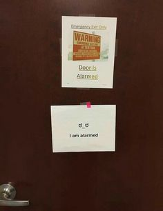 """35 funny notes left at work that can only be described as """"office shenanigans"""" 