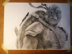 Teenage mutant ninja turtles , Leonardo