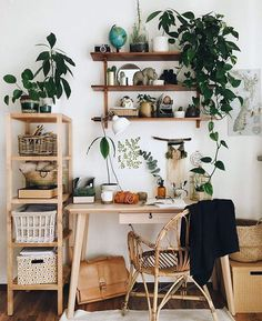 Home Deco Ideas Bathroom Cute Earthy Home Office Vibes with .- Home Deko-Ideen Badezimmer Cute Earthy Home Office Vibes mit einer Auswahl von Z… Home Deco Ideas Bathroom Cute Earthy Home Office Vibes with a selection of indoor plants - Decor, Room Inspiration, Apartment Decorating On A Budget, Dorm Room Decor, Tumblr Room Decor, College Apartment Decor, Decorating On A Budget, Earthy Home, Apartment Decor