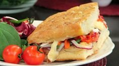 Brie & Roasted Pepper Panino