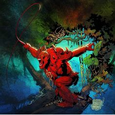 Red Beastman by Axel Gimenez