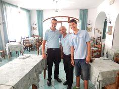 Vi aspettiamo stasera a cena :)  Antonio, Pasquale e Roberto