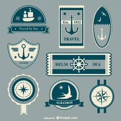 239 10 Awesome Free Nautic Vectors