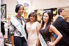 Vanessa G and Miss Earth SA Finalists. Product Launch, Sari, Fashion, Saree, Moda, Fashion Styles, Fashion Illustrations, Saris, Sari Dress