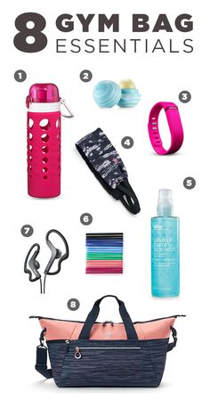 You're off to the gym with your favorite trainers and best sports bra. This handy list with help you remember all those little extras you should keep in your gym bag. Featured product includes: Artland 247 20-oz. water bottle, eos lip balm in vanilla mint, Fitbit wireless activity tracker, Tek Gear wicking headband, Sony active sport headphones, scunci no-damage hair ties, bliss Fabulous Foaming Face Wash, and adidas studio duffle bag. Gear up for a great workout at Kohl's.