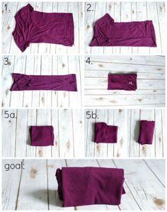 The KonMari Method Clothes Organization | http://JustAGirlAndHerBlog.com