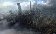 ArtStation - A Storm Passing, Gabriel Perez