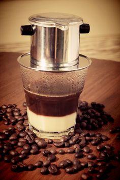 Vietnam drip #coffee taste very nice.