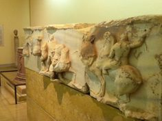 From the museum at Delphi, Greece