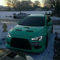 #Mitsubishi #EvoX #Modified #Green