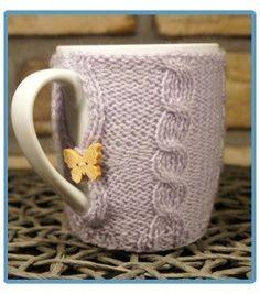 handmade kubek w sweterku ręcznie robiony gabriel