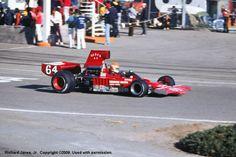 Tony Brise - Lola T332 [HU37] Chevrolet - First National City Travelers Checks California Grand Prix - 1975 SCCA/USAC F5000 Championship, Round 9