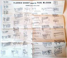 Details About Vintage Paul Mccobb Directional Furniture