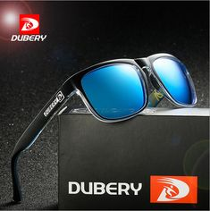 8156997108d8 DUBERY Mens Polarized Sunglasses Outdoor Sport Classic Blue Lens Glasses  New  affilink  polarizedsunglasses