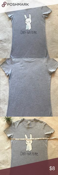 Bella + Canvas Juniors T-Shirt Bunny Small Fitted *Size – Small Fitted (Please look at t-shirt measurements this is a fitted t-shirt) *All my items come from a smoke free home *All my items are washed and clean (Unless they are new with tags) *All my items have pictures of sizes and measurements *All my items will be shipped within 1 day *Please message me within any questions before purchasing items *I will consider reasonable offers so please don't hesitate to ask *Thank you so much for…