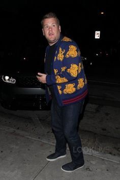 James Corden - Enjoys a night out at Craig's
