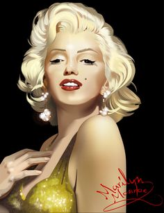 Marilyn Monroe by on DeviantArt Marilyn Monroe Drawing, Marilyn Monroe Pop Art, Marilyn Monroe Photos, Glamour, Norma Jeane, Up Girl, Angelina Jolie, Pin Up, Hollywood