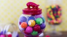 How To Make Your Own Retro Candy Jar