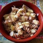 Fusilli integrali con crema di mandorle Fusilli, Fett, Ethnic Recipes, Cream