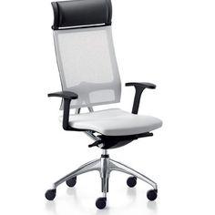 Sitflex Pro Air bureaustoel stof met hoofdsteun | Bureaustoelen ...