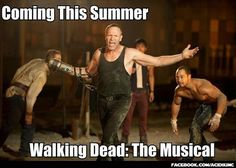 Coming this summer, Daryl Dixon and Merle in Walking Dead: The Musical #WalkingDead