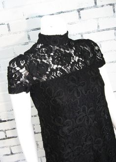 Vintage 60s MOD SHEER Illusion LACE Ribbon by wildatheartvintage, $150.00