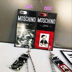 iPhone8ケース ソフト ブランド モスキーノ