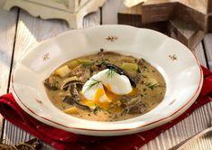 Kulajda - recept | Varecha.sk Ramen, Japanese, Ethnic Recipes, Food, Japanese Language, Essen, Meals, Yemek, Eten