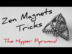 Cool ZenMagnets tricks - YouTube Cool Shapes, Balls, Cube, Magnets, Make It Yourself, Cool Stuff, Youtube, Youtubers