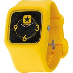 Converse Clocked 2 watch - Black & Yellow