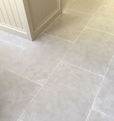 Paris Grey limestone kitchen flooring