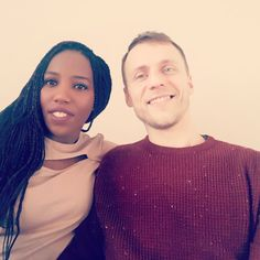 Gorgeous interracial couple from London #love #wmbw #bwwm #swirl #lovingday #relationshipgoals