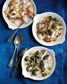 Baked Brussels-Sprout Custards Recipe