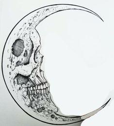 Sketch Tattoo Design, Tattoo Designs, Body Art Tattoos, Small Tattoos, Easy Skull Drawings, Tinta Tattoo, Black And White Art Drawing, Ink Illustrations, Skull Illustration